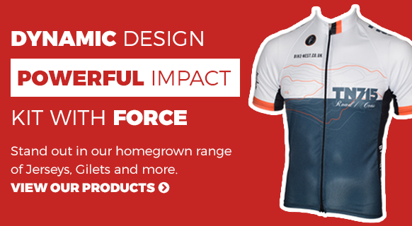 Cycling Kit of the highest quality, made in the UK